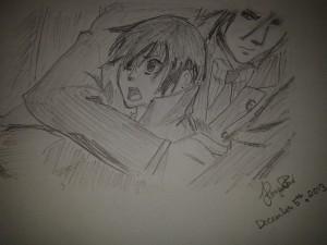 "Ciel and Sebastian [""Black Butler""]"